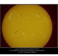 Lunt Solarsystems Lunt LS80THa/B1800CPT H-Alpha Sonnenteleskop