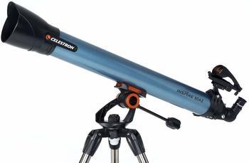 Celestron Inspire 80AZ Lichtbrechungskörper 189x Blau