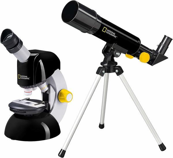 National Geographic Teleskop und Mikroskop-Set