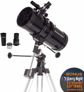 Celestron PowerSeeker 127EQ Reflektor 300x Schwarz