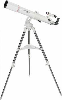 Bresser Messier AR-90/900 Nano AZ mit azimutaler Montierung und Edelstahl Dreibein-Feldstativ