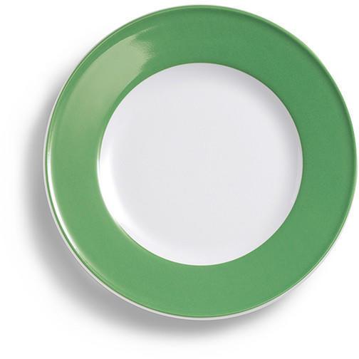 Dibbern Solid Color apfelgrün Frühstücksteller 21 cm