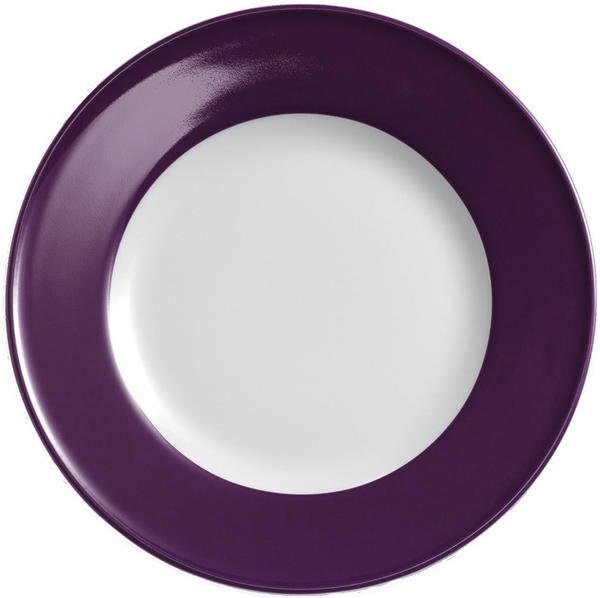 Dibbern Solid Color pflaume Frühstücksteller 21 cm