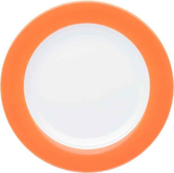 Kahla Pronto orange Brunchteller flach 23 cm