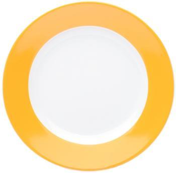 Kahla Pronto orange gelb Frühstücksteller 20,5 cm