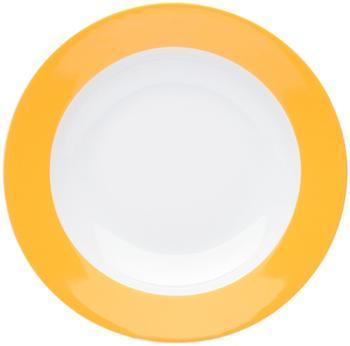 Kahla Pronto orange-gelb Suppenteller 22 cm
