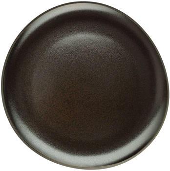 Rosenthal Teller 22 cm flach Junto Dark slategrey