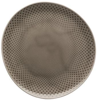 Rosenthal Teller flach 22 cm Junto Pearl Grey