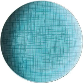 Rosenthal Mesh Teller 21 cm Aqua