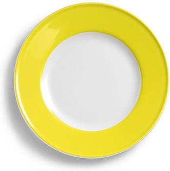 Dibbern Teller Flach 17 cm Fahne Solid Color Zitrone