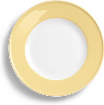 Dibbern Teller Flach 17 cm Fahne Solid Color Vanille