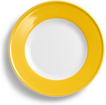Dibbern Teller Flach 17 cm Fahne Solid Color Sonnengelb