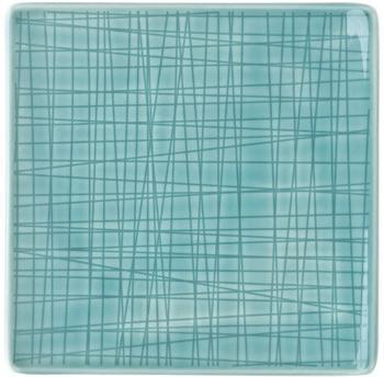 Rosenthal Mesh Teller 14 cm quadr. Aqua