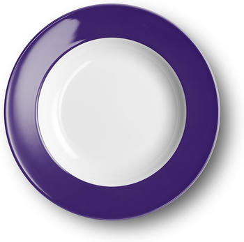 Dibbern Spaghetti-Teller 31 cm Fahne Solid Color Violett