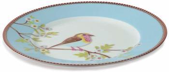 PiP Studio Early Bird Frühstücksteller 21 cm blau