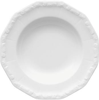 Rosenthal Maria Suppenteller 23 cm weiß