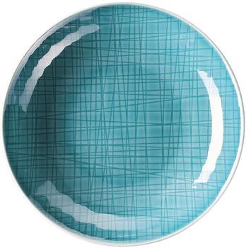 Rosenthal Mesh Teller 19 cm tief Aqua
