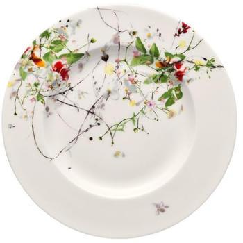 Rosenthal Selection Brillance Frühstücksteller Fahne 19cm Fleurs Sauvages