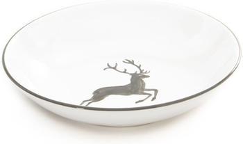 Gmundner Suppenteller Cup 20 cm grauer Hirsch