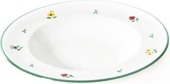 Gmundner Suppenteller Gourmet 24 cm Streublumen