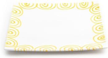 gmundner-platzteller-eckig-31-x-31-cm-gelbgeflammt