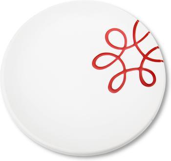 gmundner-dessertteller-pur-20-cm-geflammt-rot