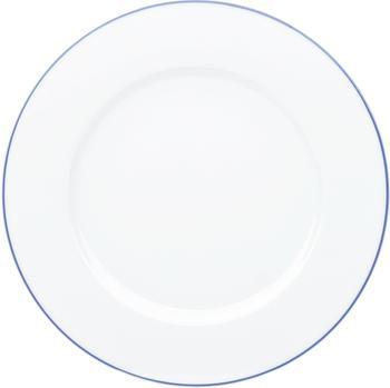 Kahla Aronda Frühstücksteller 21 cm blaue Linie