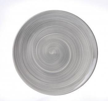Ritzenhoff & Breker Speiseteller grau Valencia 26,5 cm
