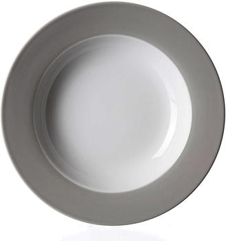 Ritzenhoff & Breker Suppenteller Doppio grau 22 cm