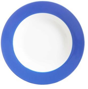 Ritzenhoff & Breker Suppenteller Doppio indigoblau 22 cm