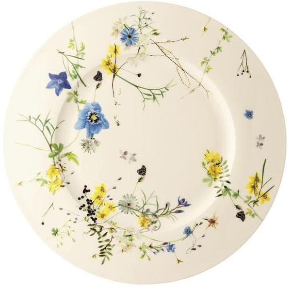 Rosenthal Brillance Fleurs des Alpes Platzteller/Fa 33 cm