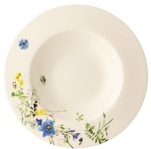 Rosenthal Brillance Fleurs des Alpes Suppenteller/Fa 23 cm