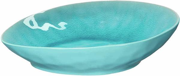 ASA Alaplage Pastateller turquoise 25 x 23,3 cm H 6 cm