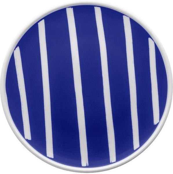 Thomas ONO friends Brotteller 18 cm Blue White Lines