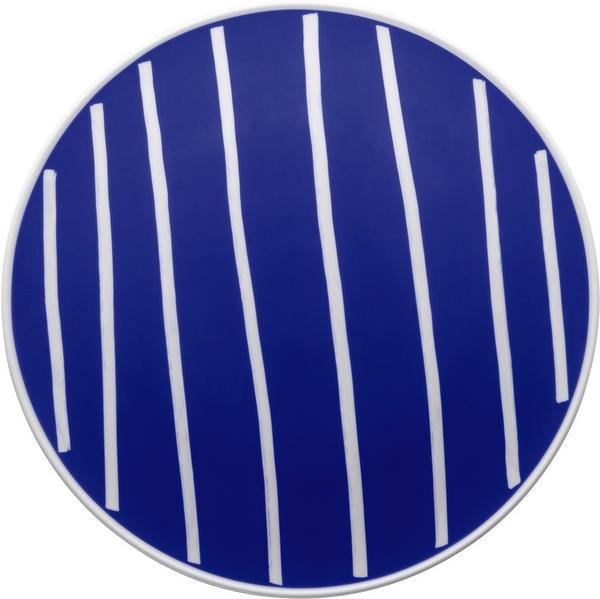 Thomas ONO friends Pizza-/ Platzteller 32 cm Blue White Lines