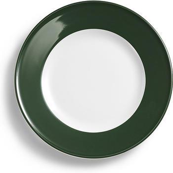 Dibbern Solid Color russischgrün Speiseteller 26 cm