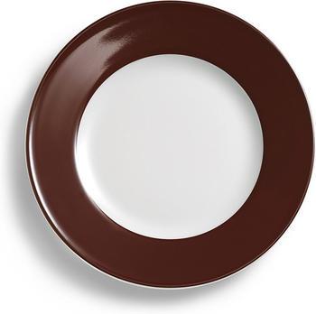 Dibbern Solid Color Speiseteller 28 cm Kaffeebraun