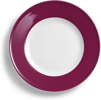 Dibbern Solid Color Speiseteller 31 cm Fahne Bordeaux
