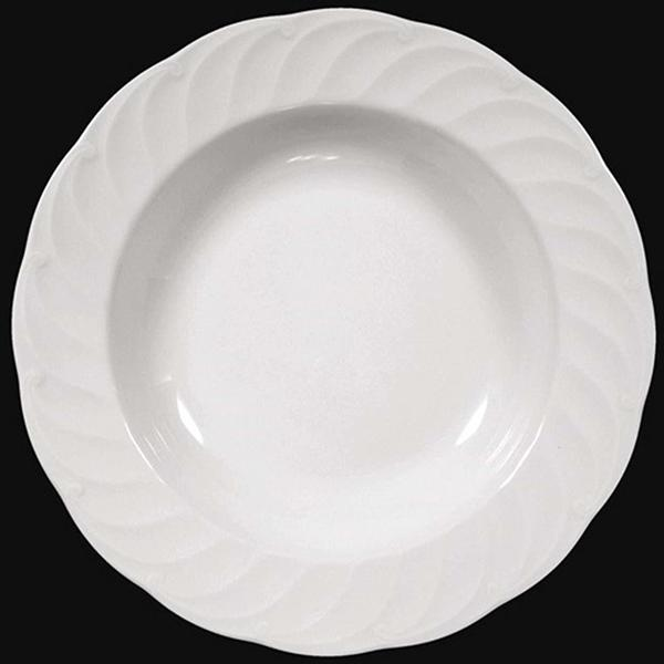 Seltmann Weiden Suppenteller 23 cm Leonore Uni weiß