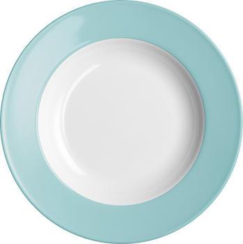 Dibbern Solid Color malibu Suppenteller 23 cm tief