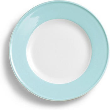 Dibbern Teller Flach 17 cm Fahne Solid Color Eisblau