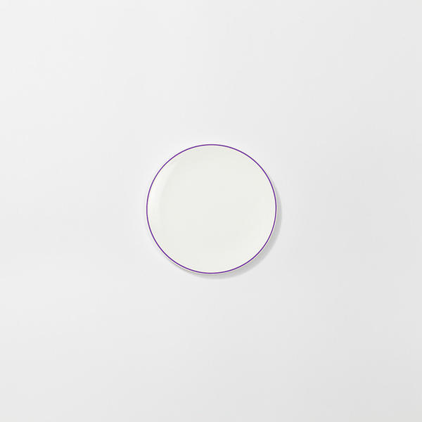 Dibbern Teller Flach 16 cm Simplicity Flieder