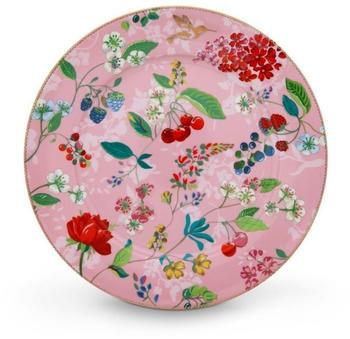 PiP Studio Floral Hummingbirds Platzteller (32 cm) rosa