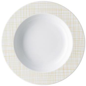 Rosenthal Mesh Line Cream Teller tief Fahne 23cm