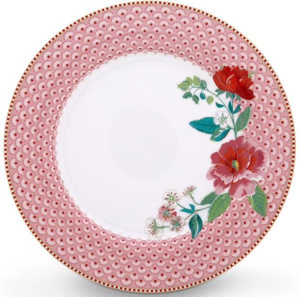 PiP Studio Floral Rose Speiseteller (26,5 cm) pink