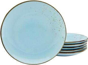 creatable-speiseteller-nature-collection-27-cm-6er-pack-light-blue