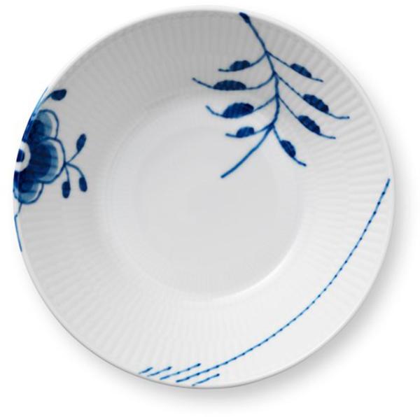 Royal Copenhagen Musselmalet Blue Fluted Mega Suppenteller (17 cm)
