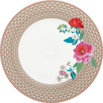 pip-studio-floral-rose-speiseteller-26-5-cm-khaki