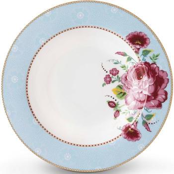 PiP Studio Floral Rose Suppenteller blau (21,5 cm)
