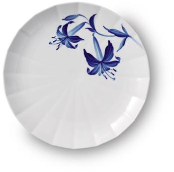 royal-copenhagen-speiseteller-blomst-lilie-27-cm